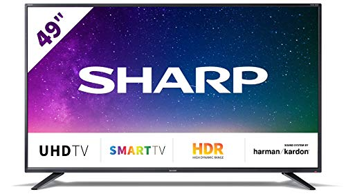 "Televisor Sharp 49BJ2E - TV 49"" 4K Ultra HD"