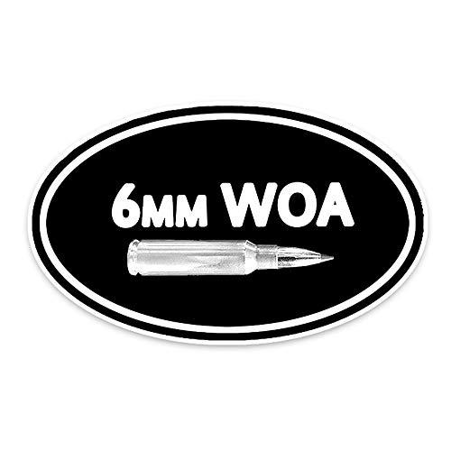 15.5CM * 9.1CM Mode 6MM WOA Munition Auto Styling Auto Aufkleber Aufkleber