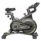 SAFGH Bicicleta estática Bicicleta estática, Bicicleta estática para Interior, con Resistencia a la Velocidad, Bicicleta de Ciclismo para Entrenador Deportivo en casa, Equipo para Perder Peso