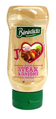 Benedicta Steak & Zwiebel Sauce Grillsauce 245 g Tube