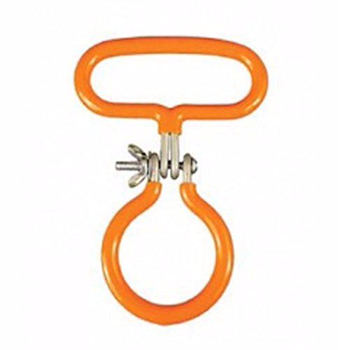 Carboy Easy Carry Handle for Smooth Neck, Orange