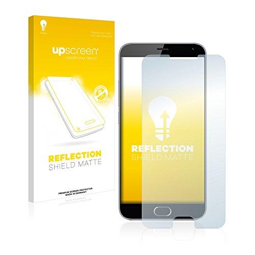 upscreen Entspiegelungs-Schutzfolie kompatibel mit Meizu M3 Note – Anti-Reflex Bildschirmschutz-Folie Matt