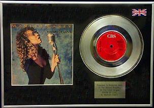 Mariah Carey, 17.78 cm, Platinum Disc Vision Of Love