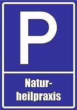 Kiwistar parkeerplaatsbord - natuurgeneeskunde 42 x 30 cm pvc.