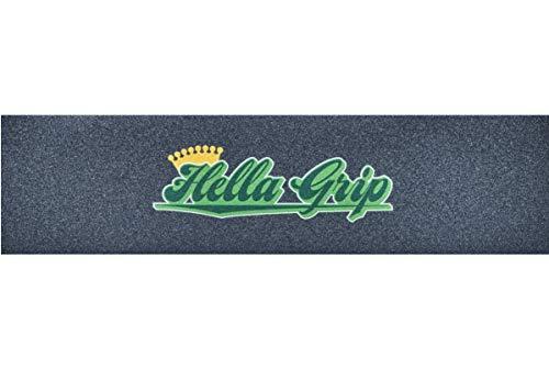 Hella Grip Classic Stunt Scooter - Cinta de agarre para patinete, color verde y pegatina Fantic26