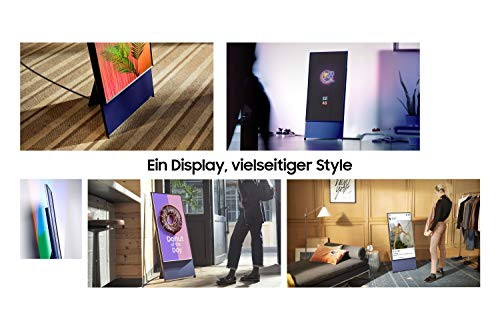 Samsung QLED 4K The Sero 108 cm (43 Zoll) (Rotierender Bildschirm, 4.1-Kanal-Soundsystem, AI Upscaling) [Modelljahr 2020]