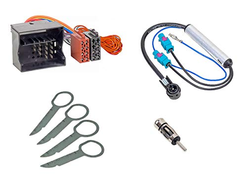 Audioproject A359 - Radioadapter Set Auto-Radio Quadlock ISO + Antennen-Adapter...