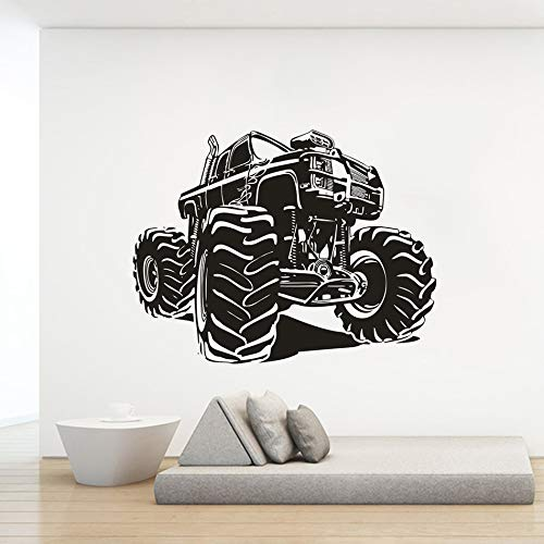 Geiqianjiumai Mountain Vinyl Racing Muursticker Creative Truck Design Home Sticker Truck Racing Poster