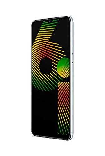 """realme 6I – Smartphone de 6.5"""", 4 GB RAM + 128 GB de ROM, Procesador Helios G80, Cuádruple Cámara AI 48MP, Dual Sim - Color White Milk [Versión Española, compatible con Portugal]"""