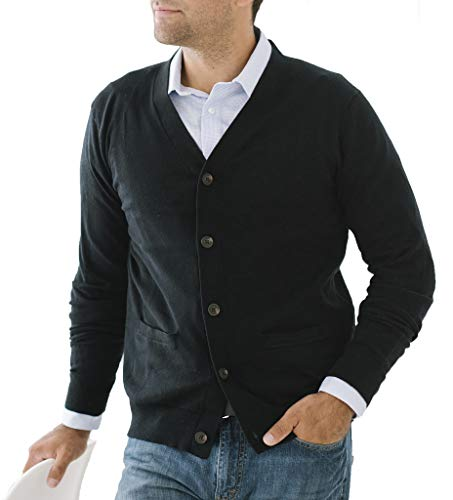 Mens Button Down Sweaters With Pockets