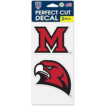 WinCraft NCAA Ohio State University Perfect Cut Decal 4 x 4 Set of 2