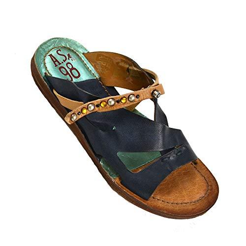 A.S.98 Airstep Damen Pantolette Leder Sandale Sandaletten Schuh : 36 Schuhgröße 36