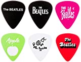The Beatles Official Licensing Guitar Picks, Variety Pack, Medium Celluloid Plastic, 6 Pack