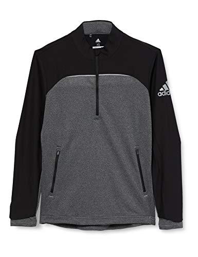 adidas go-to 1/4 Zip Chaqueta Deportiva, Negro (Negro CY7456), X-Small (Tamaño del Fabricante:XS) para Hombre