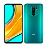 Xiaomi Redmi 9 Smartphone - RAM 3GB ROM 32GB AI QUAD CAMÉRA 6.53' Full HD+ Display 5020mAh (typ) vert [Version globale] [NO NFC]