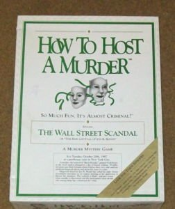 How host murder adventure mystery game