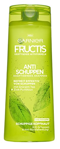 Garnier Fructis Anti-Schuppen Classic Shampoo, befreit effektiv von Schuppen, mit Anti-Rückfallwirkung, 6er-Pack (6 x 250 ml)