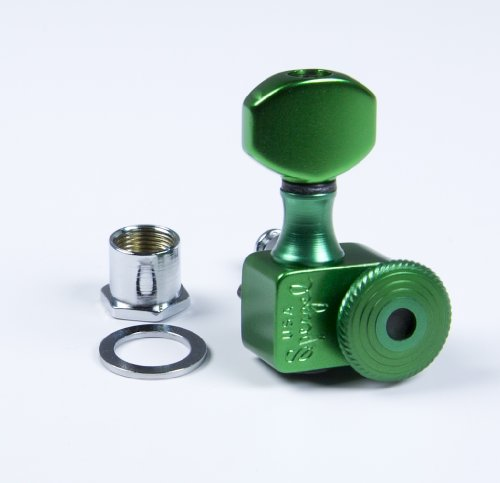 Sperzel 6TL Locking Tuner 6 Inline Green