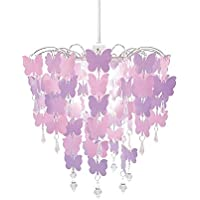 cortinas habitacion niña mariposas