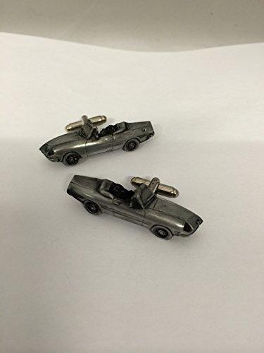 """Alfa Romeo Spider 3D """"Kham queue Boutons de manchette Homme-Classique-Bouton de manchette en ref3 effet étain"""