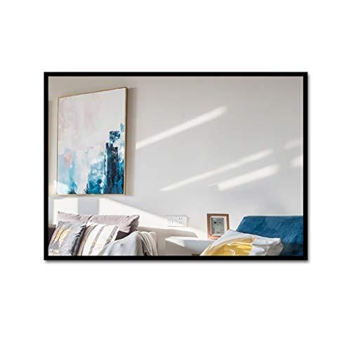LYN Miroir Murale,Bathroom Mirror, Salle de Bain Miroir rectangulaire Mural, Miroir de Maquillage Chambre Salon Hall d'entrée, Toute Chambre (40 * 60