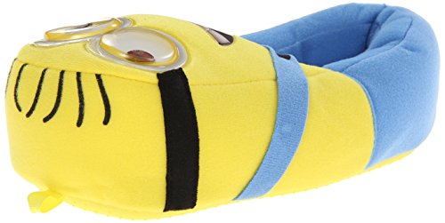 Despicable Me unisex child Despicable Me Full Body Slipper, Yellow, 13 Little Kid US