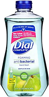 Dial Complete Antibacterial Foaming Hand Soap Refill, Fresh Pear, 32 Fluid Ounces