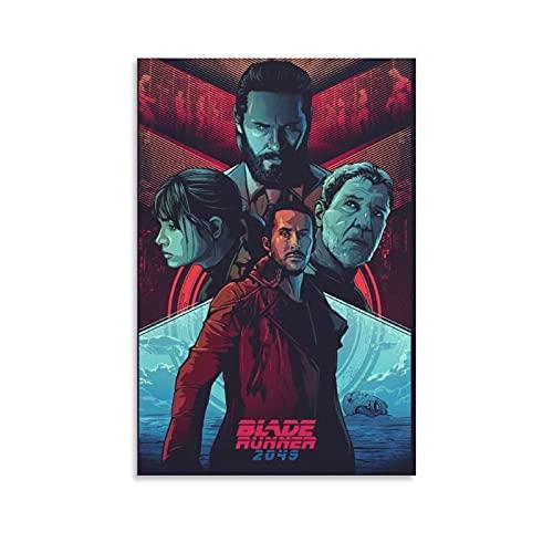 Blade Runner 2049 - Póster de la película vintage, 40 x 60 cm