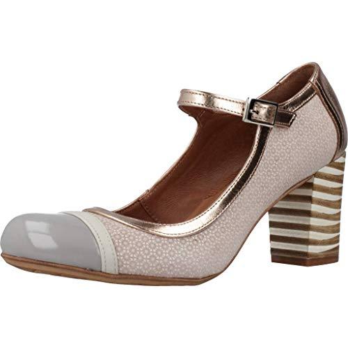 Nemonic Zapatos Tacon 1790N para Mujer