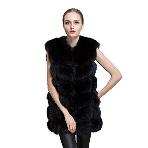 Homebaby Giacca Gilet Pelliccia Spessore Donna Elegante Caldo Cappotto Invernale Moda Senza Maniche Waistcoat Casuale Maglione Felpa Autunno