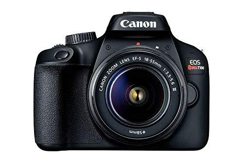 Canon EOS Rebel T100 / 4000D DSLR Camera (w/ 18-55 III) (Renewed)