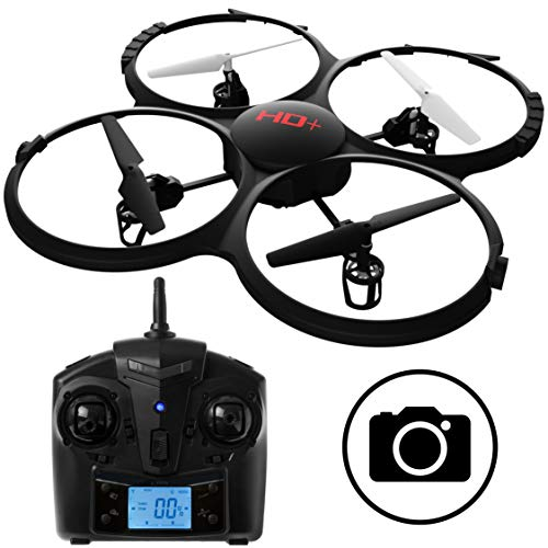 UDI RC U818A Discovery RC Drone with Camera -...