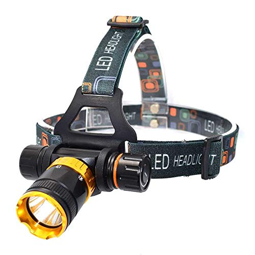 yywl LED Frontale Torches Xm-l T6 Underwater Waterproof Diving Headlamp 3800lm 5 Modes LED Headlight Frontal Flashlight Dive Head Light Lamp