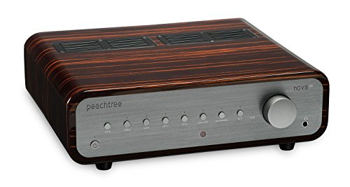 Peachtree Audio nova300 Integrated Amplifier with DAC (Gloss Ebony Mocha)
