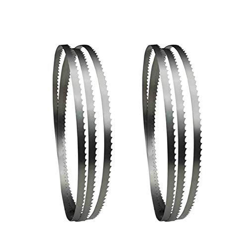 WNJ-TOOL, 2pcs Band Saw Blade 1425 X 6 X 0.65mm Bandsaw Blades Woodworking Tools For Wood Cutting TPI6 10 14 (Size : TPI 14)