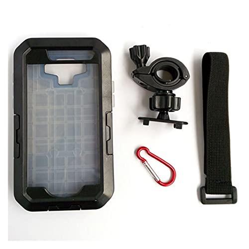 XIAOZHIWEN Caja de la Bicicleta de la Bicicleta Montaje del Manillar de la Bicicleta Caja Impermeable para el Titular del teléfono de la Bicicleta para Samsung Galaxy S3 / S4 / S5 / S6 / S6 Edge / S7
