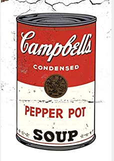 Best campbell soup metal signs Reviews