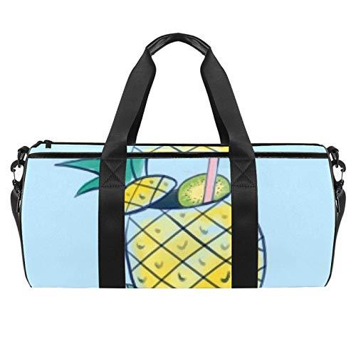 Bolsa de viaje para playa, deporte, gimnasio, bolsa grande con bolsillo seco y mojado.