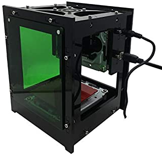Mini 1500mw USB Laser Engraver Automatic Carver DIY Print Engraving Carving Machine with Protective Panel