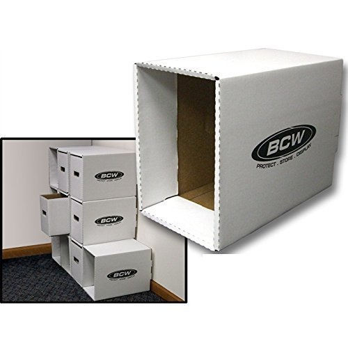 Bundle of 10 Short Comic Book Storage House with Boxes by BCW
