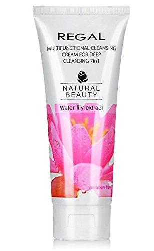 Regal Natural Beauty - Crème nettoyante multifonctionnelle 7 en 1, pour les peaux normales et mixtes
