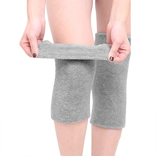 Winter Cotton Non-Slip Soft Thermal Knee Pad Breathable Warm Leg Sleeves Kneelet Support Elastic...