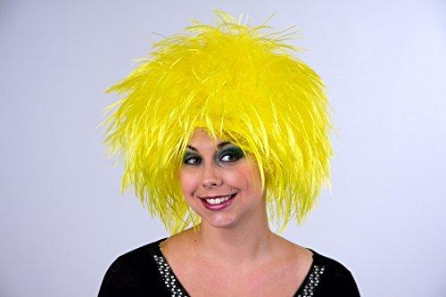 Perruque Nina, jaune