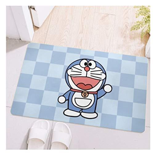 Maize store Alfombras Dormitorio De Los Niños Sala De Estar Rectangular Alfombrilla De Piso Dibujos Animados Doraemon Kid Play Baño Cocina Baby Crawl Nursery Home Decor Large