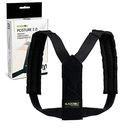 BLACKROLL POSTURE 2.0 Haltungstrainer- Rückengurt für eine verbesserte Körperhaltung S/M/L