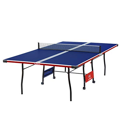 JOOLA Indoor 15mm Ping Pong Table with Quick Clamp Ping Pong