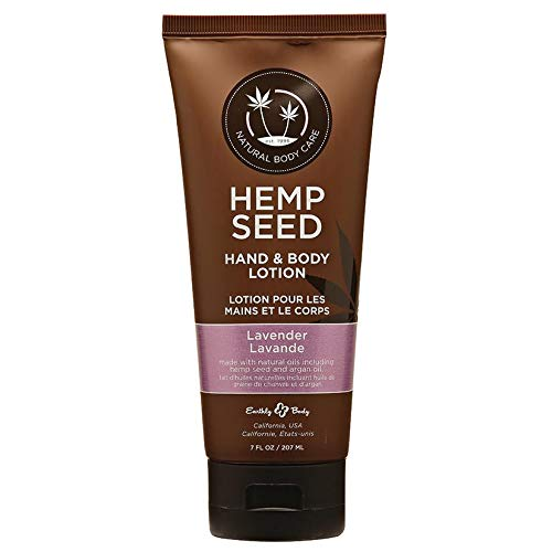 Earthly Body Hemp Seed Hand & Body Lotion 7oz Tube - Assorted Scents (Lavender)