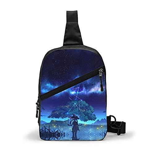 Menger sac Genshin Imt impression 3d Anime hommes 'S taille sac à bandoulière sac ceinture sac gilet sac à bandoulière Bagone taille