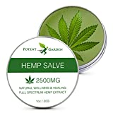 Hemp Salve ‐ All‐Natural Ointment ‐ Soothing Non-Greasy