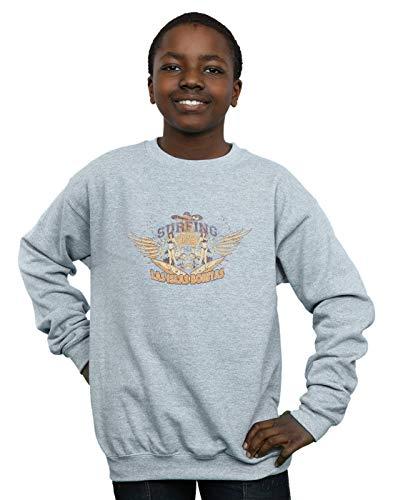 Absolute Cult Drewbacca Jungen Las Islas Bonitas Sweatshirt Sport Grau 7-8 Years